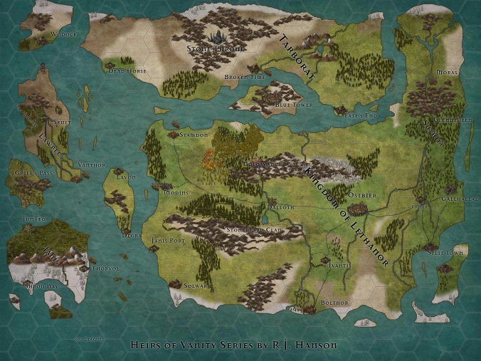 Map of the Roland's World
